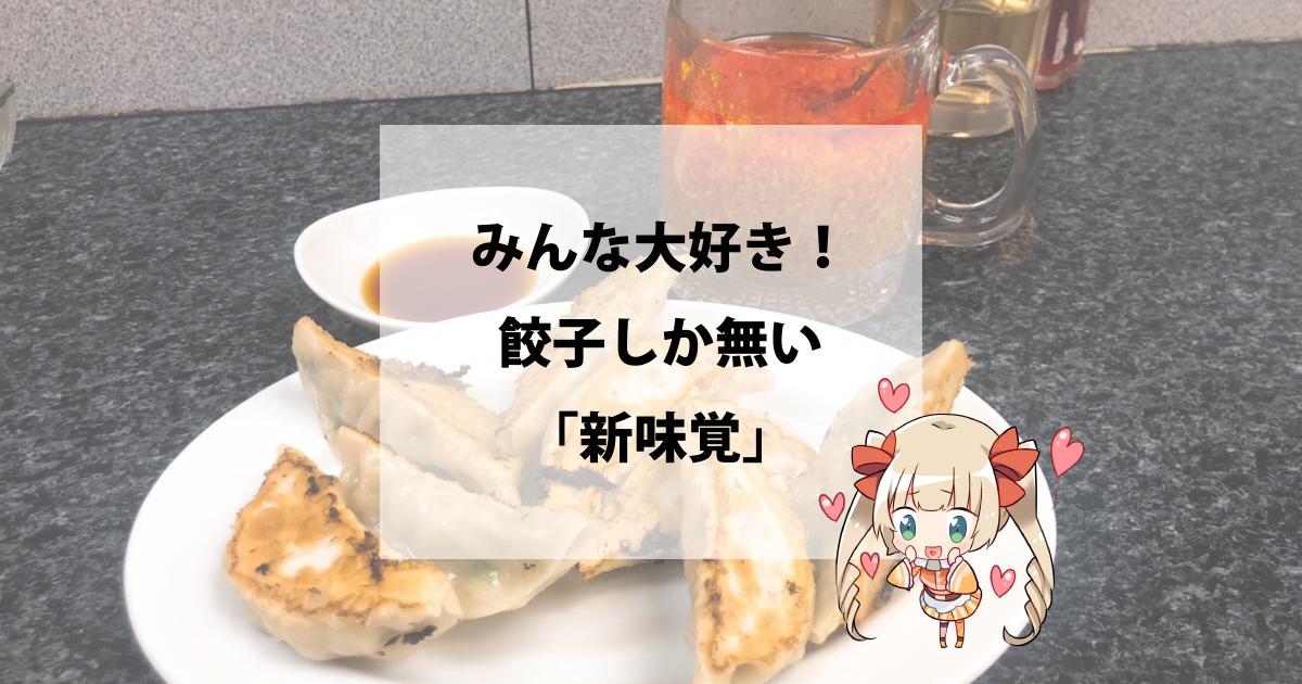 みんな大好き!餃子しか無い「新味覚」