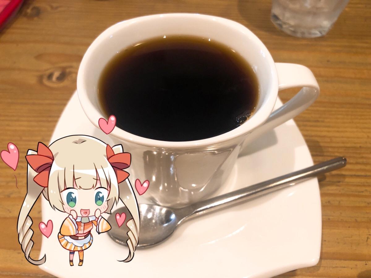 カフェ・ド・アン・ダニエルズのブレンドコーヒーTADAKATSU